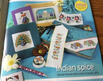 34 - INDIA-INSPIRED MOTIFS - Cross Stitch Pattern Only