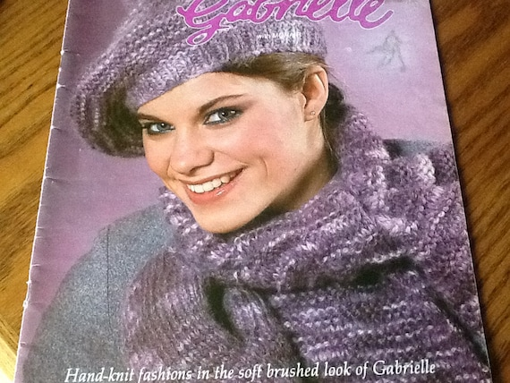 Gabrielle Beehive Knitting Patterns Book No 508 Etsy