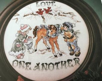 SHARING LOVE - Cross Stitch Pattern Only