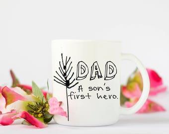 Dad Mug, Dad Coffee Mug,  Father's Day Mug, Father's Day Gift, Coffee Cup, Dad Gift, Birthday Gift, Father Gift, Birthday