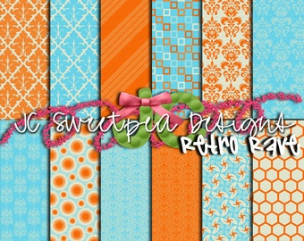 Retro Rave Paper Pack