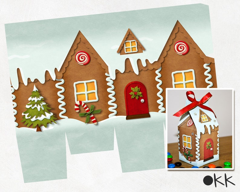 picture about Gingerbread House Printable known as Gingerbread residence printable, milk carton desire box, milk carton reward box, Xmas printable, Xmas gingerbread, Xmas reward box