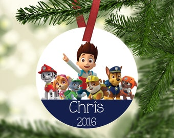 popular items for paw patrol ornament