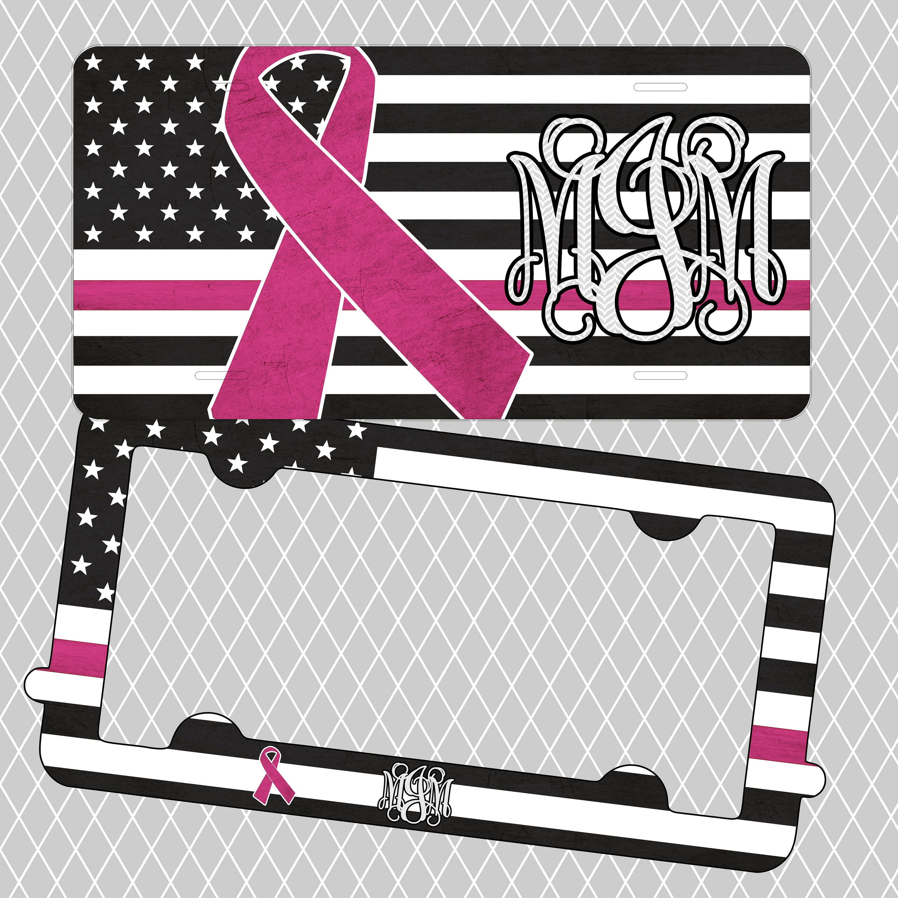 Fantastic Patriotic License Plate Frame Motif - Frame Photo Design ...