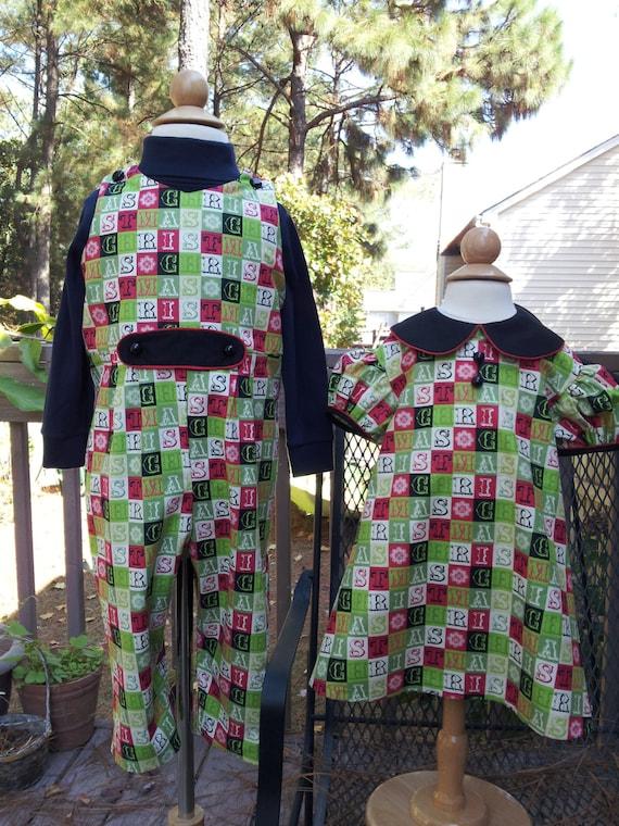 Boy/'s Christmas Tree Turtleneck One Piece Twins Option Size 12 months