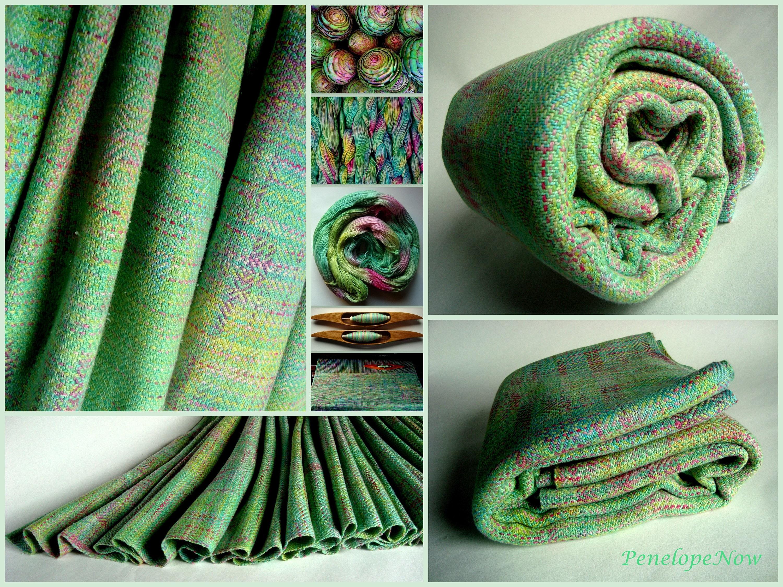 aacfa053868 Handwoven Baby Wrap Cotton   Shappe Silk Size 4 73 cm X