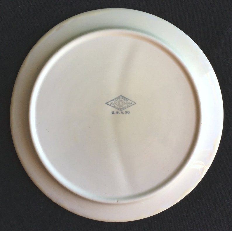 Lightly-Used Condition AVCO Alliance Hotel Restaurant Diner China Child/'s Grill Plate in Excellent