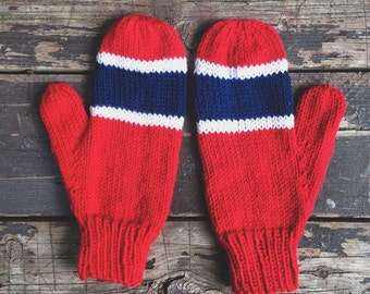 promo code a840f dd257 ... snap back corduroy hat cap nhl hockey e29f83 51c55 26b51 spain red  white and blue montreal canadiens style hand knit mittens 6432c 1b51d ...