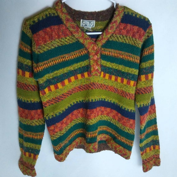 Vintage '90's Wool Blend HIP Sweater Small