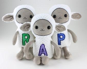 Sheep plushie - made to order
