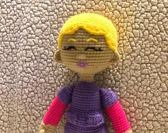 Essential worker doll, Nurse, Crochet Doll