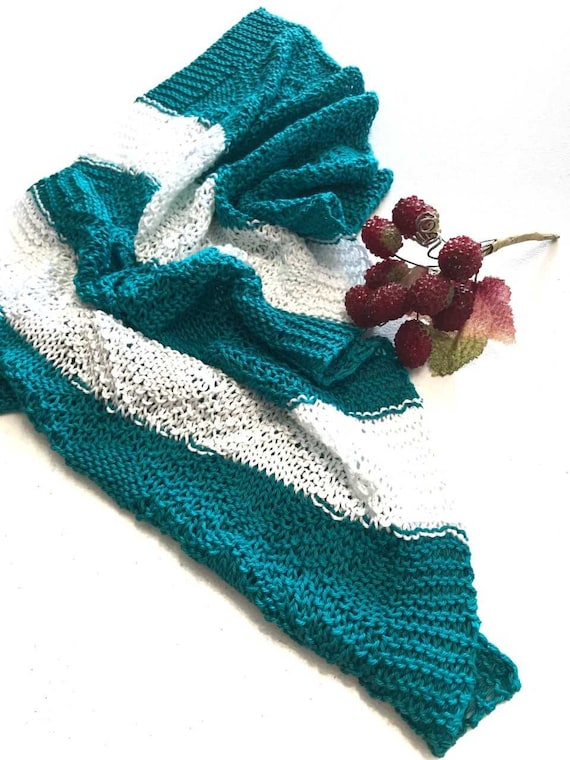 Instant Download Knit Tea Towel Pattern Towel Tutorial Etsy