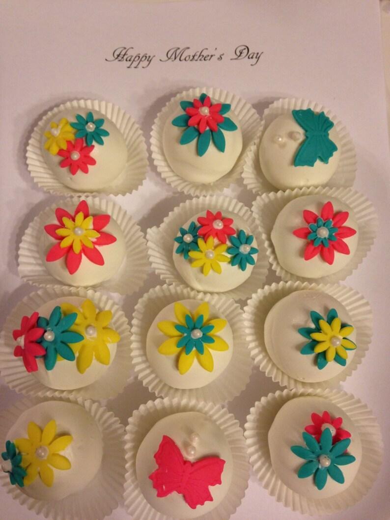 Mothers Day Birthday 1 Dozen Cake Balls Gift Box