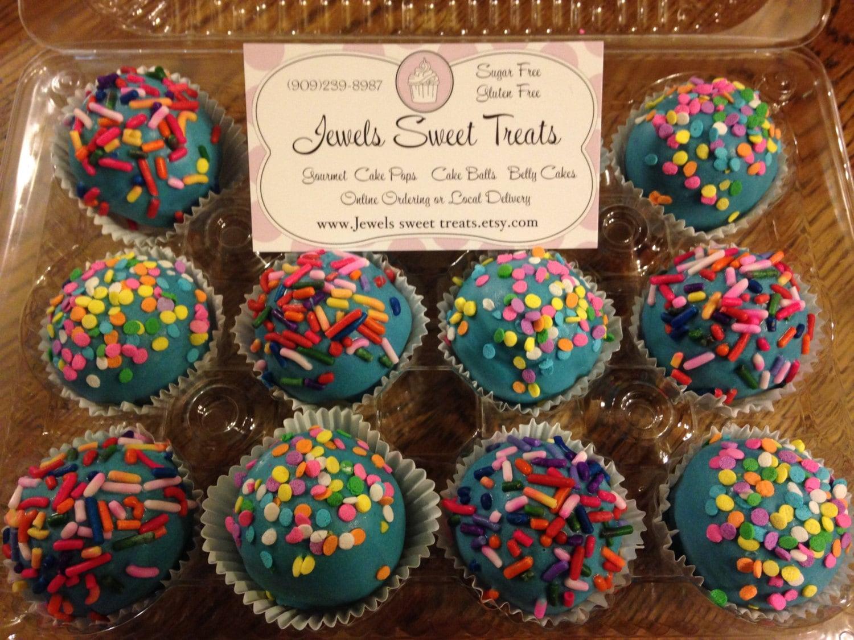Birthday Cake Sugar Free Balls Or Pops Truffle