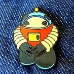Droid Enamel Pin