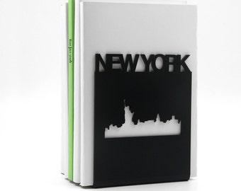 NEW YORK Buchstütze, modernen und minimalistischen Stil.