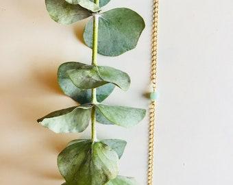Tiny Jade Bracelet, Gemstone, Mala Bracelet, Dainty, Boho, Yoga Bracelet,  Crystal Healing Jewelry, Spiritual Gift