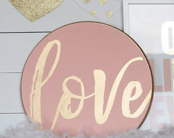 DIY Love Sign ***Stencil or Lettering Only***