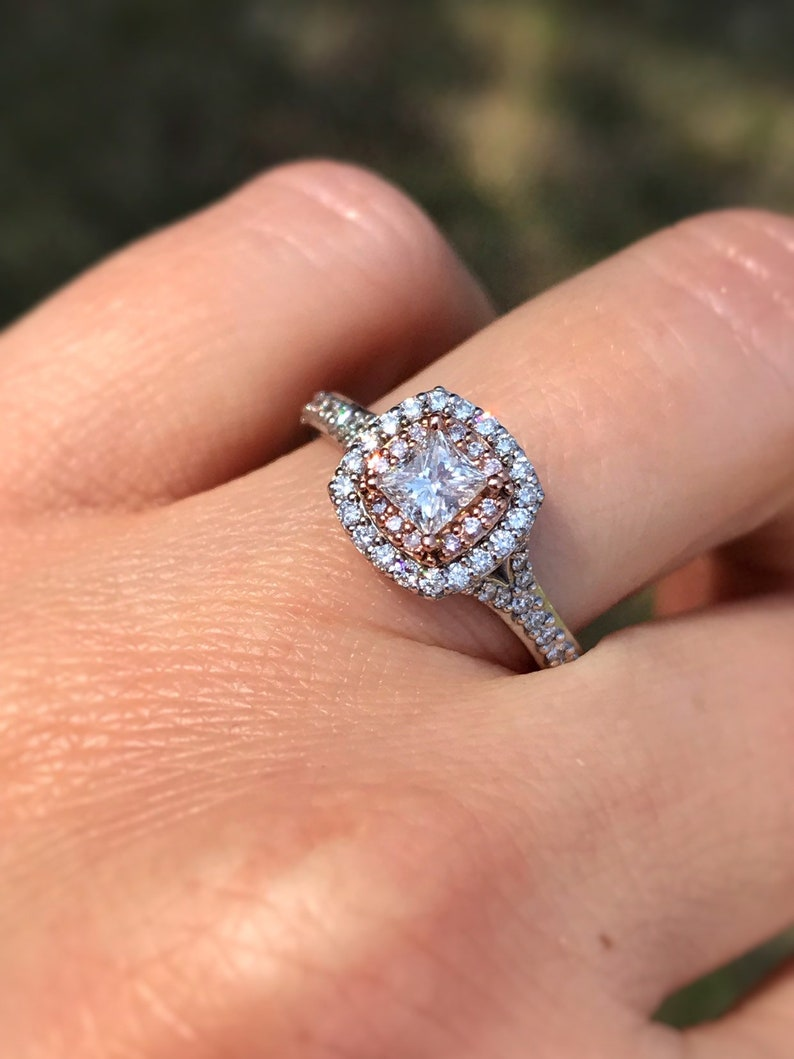 cbd36dd7b4e05 3/4 carat diamond Engagement Ring. Offering Layaway