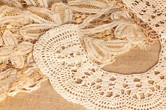 White Collar Necklace, Detachable Peter Pan Colla… - image 4