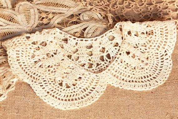 White Collar Necklace, Detachable Peter Pan Colla… - image 2