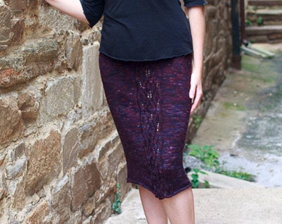 Francis Knitting Pattern / Skirt Knitting Pattern