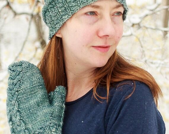 Greenwood Mitts & Hat, Knitting Pattern