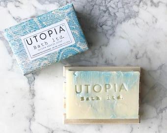 Utopia Bath Ocean Breeze & Shea Butter Soap
