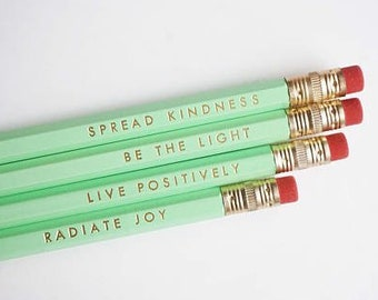 Happiness pencils | Etsy