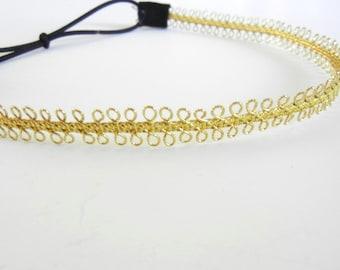 Delicate Gold Headband