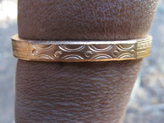 Hmong Copper Bracelet From Sapa Vietnam by Etsy