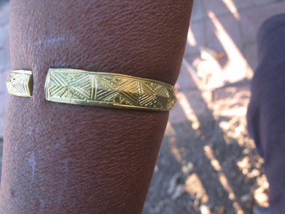 Hmong Metal Bracelet From Sapa Vietnam by Etsy