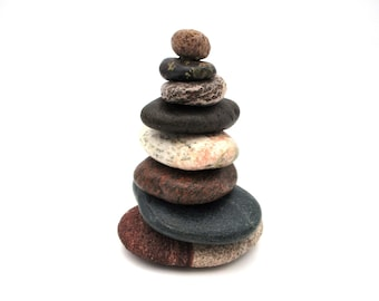 Rock Cairns For Sale Etsy