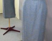 1960 39 s Wiggle Tweed Skirt