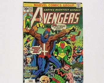 Comic Book The Avengers Marvel Comic Vintage Collectible