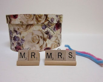 Wedding Accessories Mr. Mrs. Table Scape Decor ornament gift card table