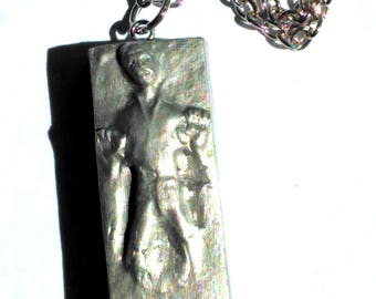 Han Solo In Carbonite Inspired Necklace