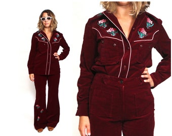 d700e288e466 70s Velour Nudi Style Suit