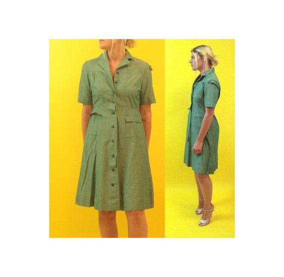 50s Girl Scout Uniform Dress
