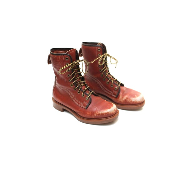 1960s Hermans Survivor Boots Mens 7.5