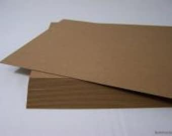 30 - 8.5 x 11 Chipboard Sheets Pads Cardboard for Photos Backing Boards Crafts Shirt 8-1/2