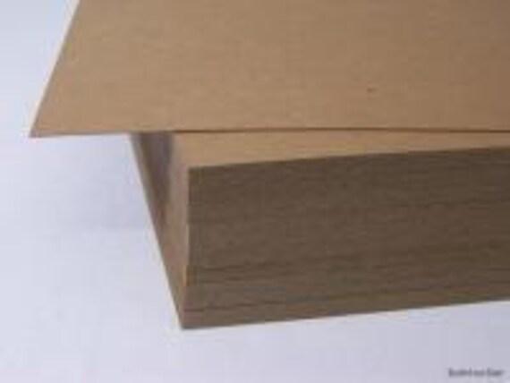 100 sheets chipboard cardboard photo backing  9x12