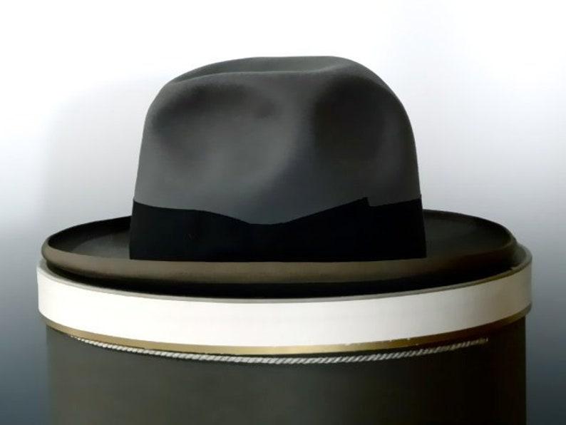 d9e9fd2fccd3a Vintage Stetson Hat 1950 s Royal De Luxe St