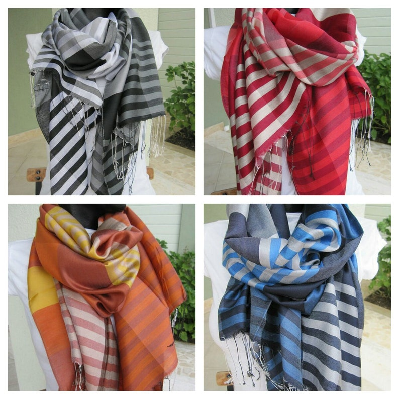 2937a91f5cccb Accessoires de mode hijab-châle long foulard marine bleu royal   Etsy