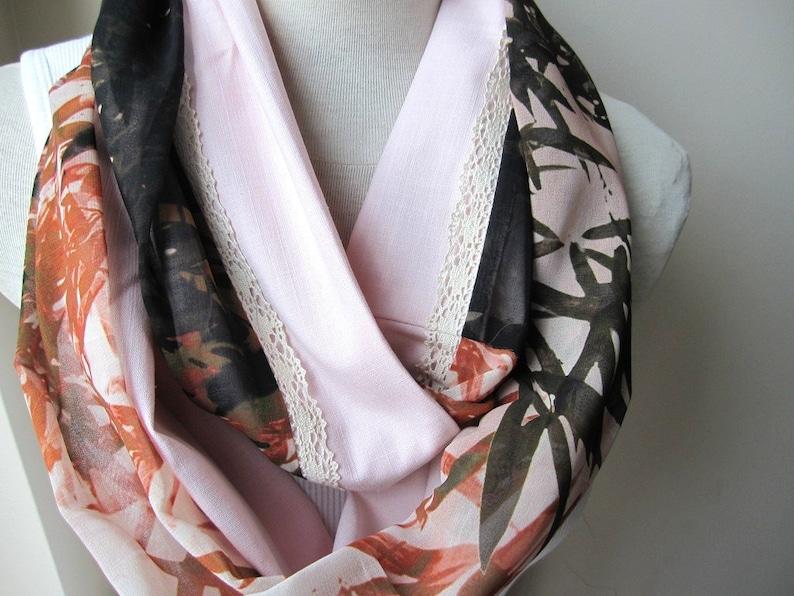 08c16bf62aab5 Echarpes orange cannelle femmes foulard pour femme rose | Etsy