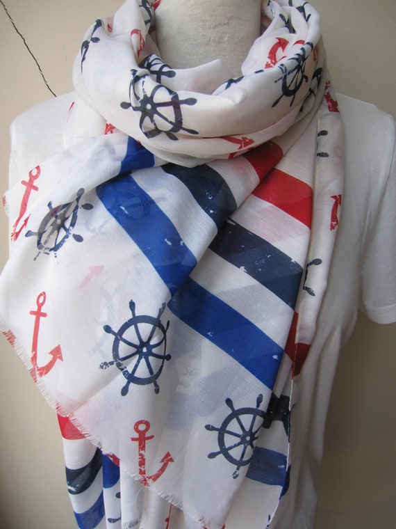 Nautical scarves
