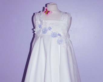 Twirling summer  ceremony Dress -  Agathe Model