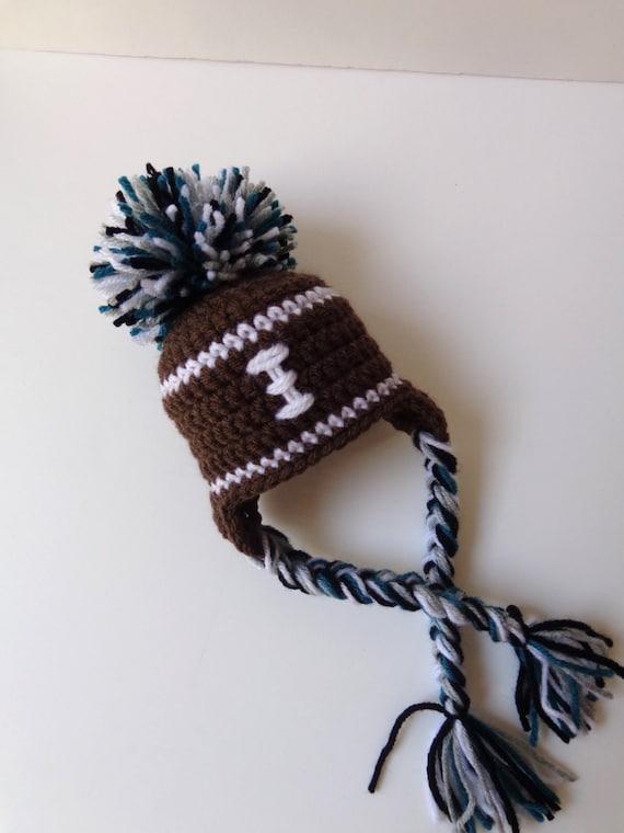Häkeln Hut Neugeborenen Fußball Mütze stricken Hut Baby Junge Baby Mädchen Fotoshooting schwarz grau Petrol grün, blau