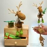 060 Dear Reindeer with accessories  - Crochet Pattern PDF file Amigurumi by Borisenko Etsy