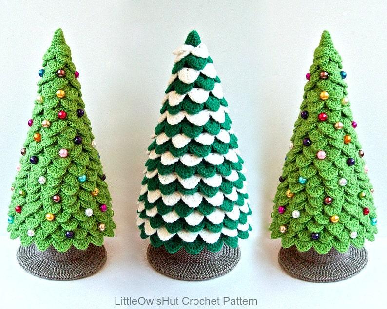 085 Crochet Pattern Christmas Tree New Year Amigurumi  by image 0